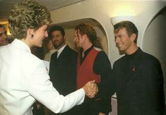 David Bowie & Lady Diana 1993