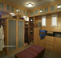 Closets, Home Workshop, Home Workshops, Home Workshop Photos - getdecorating.com