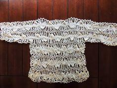 Elegante Bluson en Crochet y Horquilla.  Parte 1