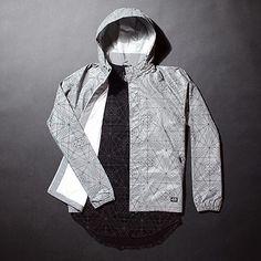 @lrgclothing Teknitian Windbreaker in Silver & L-Transit Slim Fit Tee in Black #lrg #windbreaker