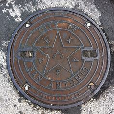 Manhole Cover  - San Antonio, Texas
