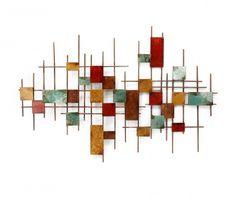 Beaux Arts Rectangles on Grid Fali dekoráció - Vivre. Decoration, Baroque, Chandelier, Ceiling Lights, Dimensions, Home Decor, Composition, Ornament, Collage