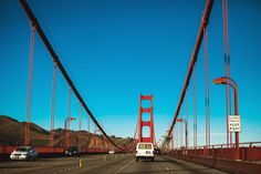 American Road by Justyna Zduńczyk, via Behance Golden Gate Bridge, Behance, American, Travel, Behavior, Viajes, Destinations, Traveling, Trips
