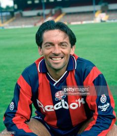 Bolton Wanderers footballer Phil Brown circa 1994