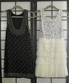 Love sparkly dresses
