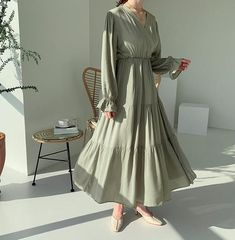 Muslim Fashion, Modest Fashion, Hijab Fashion, Fashion Dresses, Long Summer Dresses, Summer Maxi, Dress Long, Hijab Style Dress, Boho Dress