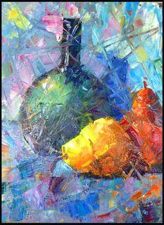 "Gloria J Zucaro 10""H x 8""W Oil on Canvas Board gloriajzucaro.blogspot.com"