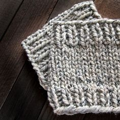 Ravelry: Boot Cuff : Relaxing pattern by Brome Fields