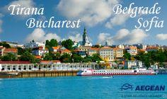 Πετάξτε με έκπτωση έως 40% !!Η Aegean airlines και το aktinatickets.gr,σας ταξιδεύουν προς Τίρανα,Βελιγράδι,Βουκουρέστι, Σόφια!! 20/03/2014–30/04/2014 20% 01/05/2014–31/08/2014 30% 01/09/2014–25/10/2014 40% •Ισχύει για κρατήσεις που θα γίνουν μέσω του www.aktinatickets.gr μέχρι 14.03.2014 ✈Πτήσεις από 20.03.2014 μέχρι 25.10.2014