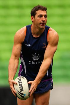 Billy Slater Photo - Melbourne Storm Training Session  http://footyboys.com
