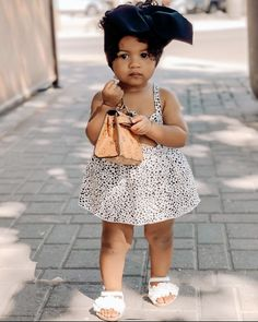 Cute Baby Girl Outfits, Cute Outfits For Kids, Cute Baby Clothes, Toddler Outfits, Cute Kids, Cute Babies, Baby Girl Fashion, Toddler Fashion, Kids Fashion