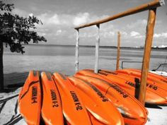 Tour the lagoon in a kayak. #Cancun #TravelTuesday #photo