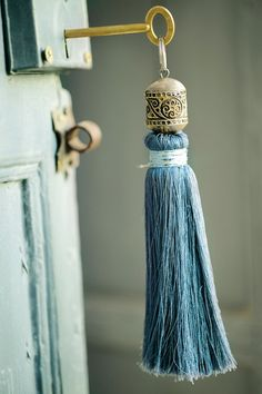 Pretty tassel - would be lovely on a key to the attic, etc in a historic home!