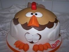 Funny hen party cake.