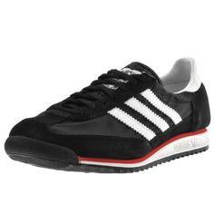 more photos 6b574 d7391 Adidas Originals SL 72 Trainers Black   Mainline Menswear Adidas Men, Adidas  Sneakers, Adidas