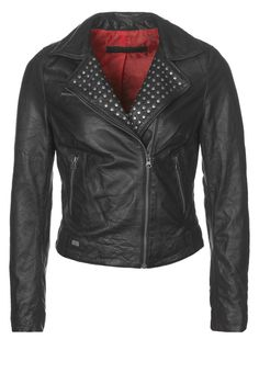 Freaky Nation - Leather jacket - black