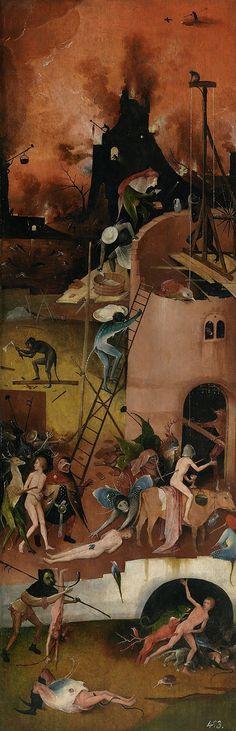 Bosch's Haywain Triptych, right panel