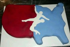 USA Wrestling cake, made for our wrestling club end of year party.
