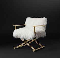 Altman Tibetan Wool Chair Comes in silver! Living Room Upholstery, Upholstery Tacks, Upholstery Cushions, Upholstery Cleaning, Modern Chairs, Modern Furniture, Furniture Design, Metallic Furniture, Furniture Chairs