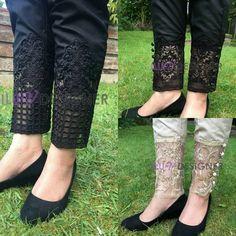 24 Best womens pants for work! Cigratte Pants, Plazzo Pants, Salwar Pants, I Luv Designer, Designer Wear, Salwar Suit Neck Designs, Salwar Designs, Kurti Sleeves Design, Sleeves Designs For Dresses
