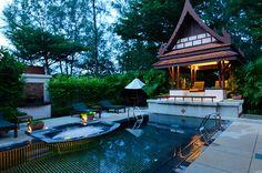 Thai Sala and Pool by An Unexpected  Song, via Flickr