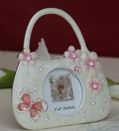 Photo Frame Small Hand Bag