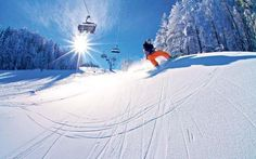 Mariborsko Pohorje is Slovenia's largest single ski area