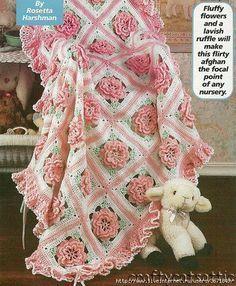 Pink Fantasy free crochet graph pattern
