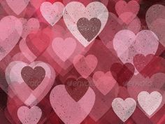 Background with Hearts 6