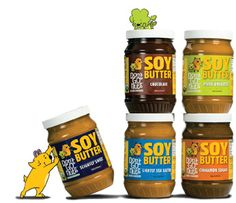 Dont Go Nuts - Soy butter assortment.  hooray!