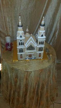 Almond cake (iglesia Aguada Puerto Rico) chef AnaVidal y Chef Glendaliz Babilonia
