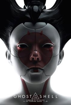Two IMAX one-sheets for the live-action remake of Ghost in The Shell have been released. One features The Major (Scarlett Johansson), while the other gives us a new look at that creepy robotic Geisha. Science Fiction, Live Action, Vigilante, Kino Film, Keys Art, Ex Machina, Animation, Ghost In The Shell, New Poster