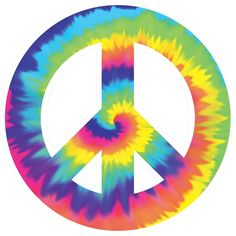 The Feelin' Groovy Cutout is ready to make your party out-of-sight! This far out cutout features a Peace Symbol in bright tie-dye colors. Cutout measures inches, and is perfect for your indoor or outdoor party. Fiesta Flower Power, Flower Power Party, Peace Love Happiness, Peace And Love, Party Props, Party Themes, Theme Parties, Party Ideas, 50 Party