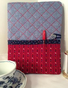 Journal Cover, Quilted Composition Notebook Cover | Craftsy