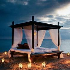 Architectural Features, Positano, Outdoor Furniture, Outdoor Decor, Gazebo, Outdoor Structures, Architecture, Bed, Bohemian Soul