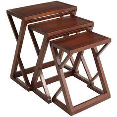 Zano Brown Nesting Tables | Pier 1 Imports