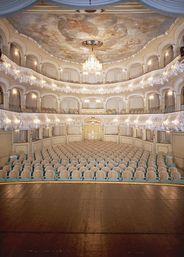 Schwetzingen Palace Rokokotheater.