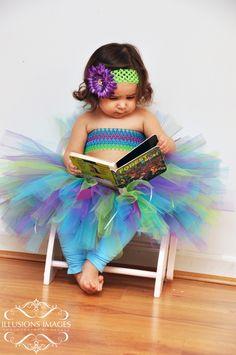 Made by PrettyGirlBoutique  www.facebook.com/PrettyGirlBoutique    (purple) Under The Sea Tutu!