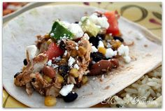 Black Bean, Corn and Salsa Chicken with Cilantro Lime Rice