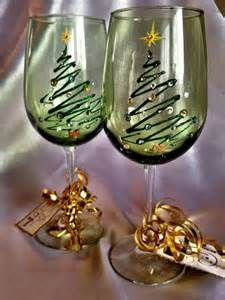 christmas wine glasses - Yahoo Image Search Results