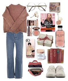 """▫"" by liberian ❤ liked on Polyvore featuring Vetements, SCHO, Acne Studios, rag & bone, Charlotte Tilbury, Bobbi Brown Cosmetics, Mod Bath and Body, Casetify and Dorothy Perkins"