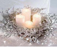 Weihnachtskranz, Weihnachtskraenze, Dekoration Weihnachten, Weihnachtskranz Best Picture For DIY Wreath easy For Your Taste You are looking for something, and it is going to tell you exactly what you Noel Christmas, Christmas Candles, Christmas Centerpieces, Xmas Decorations, All Things Christmas, White Christmas, Christmas Wreaths, Christmas Crafts, Centerpiece Ideas