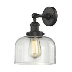 Innovations Lighting 203 Large Glass Bell Wall Sconce