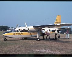 Brymon Airways at Roborough, Plymouth Airport Devon Uk, Devon And Cornwall, Old Pictures, Old Photos, Plymouth England, British Airline, Britain, Aviation, The Past