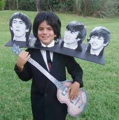 Halloween costume: Be your favourite Beatle!  Fits our theme: body-less Beatles. The ZomBeatles -- A Hard Day's Night of the Living Dead! Halloween Party Decorations & Ideas