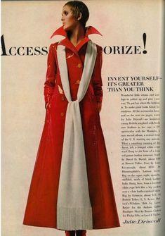 Julie Driscoll -  Accessorise! Vogue 1969.