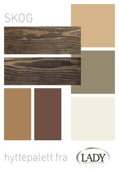 Frodige farger for hytta i skogen. Jotun Lady, Best Paint Colors, Cabins In The Woods, Wood Colors, Color Inspiration, Color Schemes, House Ideas, Cottage, Bedroom