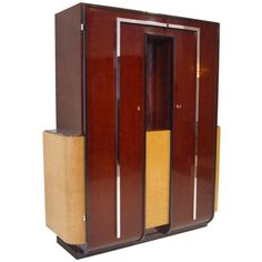 Very Rare 1930s Buxus Cabinet | From a unique collection of antique and modern cabinets at http://www.1stdibs.com/furniture/storage-case-pieces/cabinets/