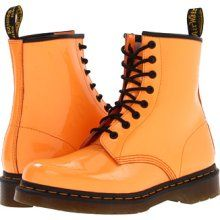 orange doc martens boots - Can't find these anywhere!!!! OH THE MISERY...