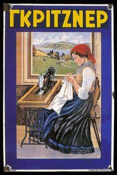 Για κάποιον που ασχολείται με το design ή τις τέχνες γενικά, η συλλογή αυτών των εικαστικών αρχείων που μαζεύεται καθημερινά στο νετ είναι ... Vintage Advertising Posters, Old Advertisements, Vintage Posters, Vintage Signs, Vintage Ads, Old Posters, Propaganda Art, Poster Drawing, Poster Ads